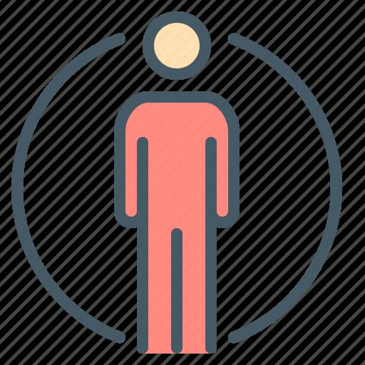 human, man, people, profile, user icon