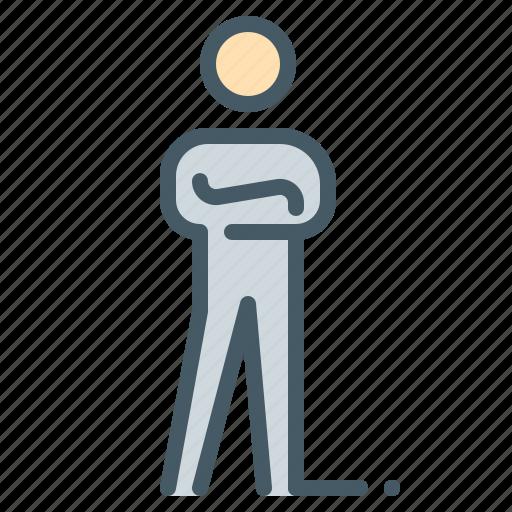 businessman, confidence, human, person, profile, user icon