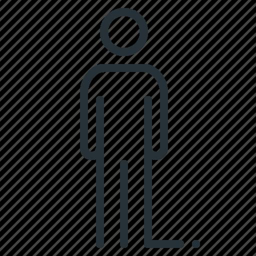 businessman, human, person, profile, user icon
