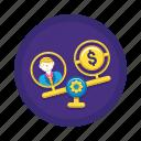 finance, income, money icon