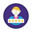 rating, review, star icon