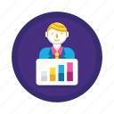 chart, progress, statistics icon