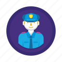 job, people, security icon