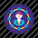 avatar, shareholders, stakeholders icon