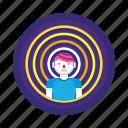 man, person, telepathy icon