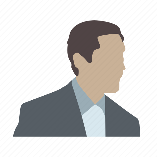 broker, head, human, lawyer, notary, partner, person icon