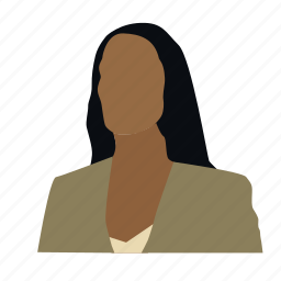 avatar, head, lawyer, partner, person, sales manager, woman icon