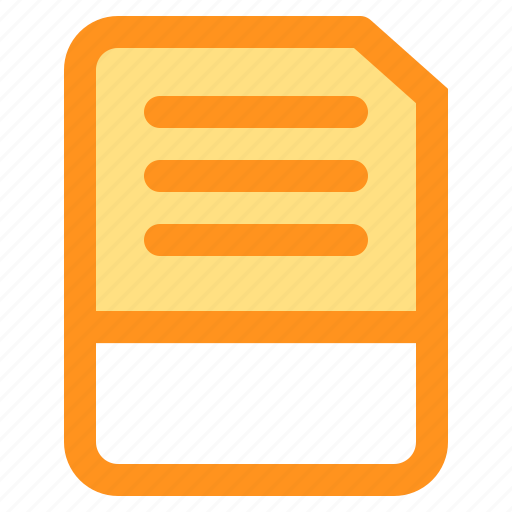 Document, file, folder, format, txt icon - Download on Iconfinder