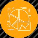 analytics, analyze, business, chart, diagram, presentation, report icon