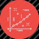 analytics, analyze, chart, diagram, presentation, project, report icon