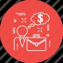 bag, briefcase, business, case, dollr, job, portfolio icon