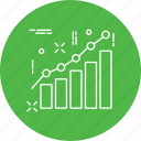 analytics, chart, diagram, officewark, preparation, project, report icon