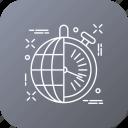 clock, globe, international, seo, work icon