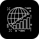 analytics, chart, diagram, officewark, preparation, presentation, report icon