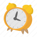 alarm, cartoon, clock, hour, time, timer, watch icon