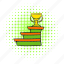 award, comics, cup, podium, success, trophy, winner icon