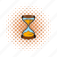clock, comics, countdown, glass, hourglass, sand, time icon