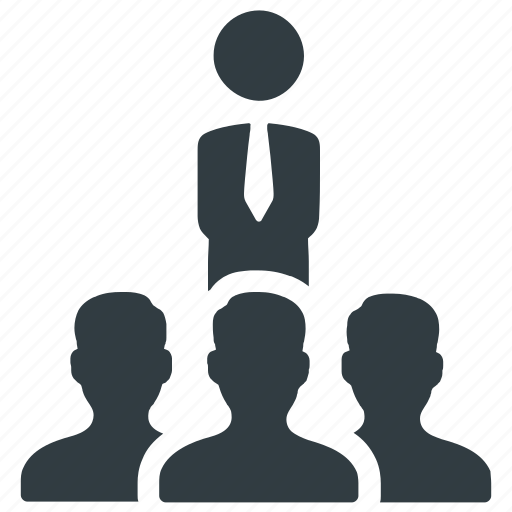 business, cooperation, corporate, group, leadership, team, teamwork icon