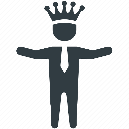 achievement, business, businessman, success, top, victory, winner icon