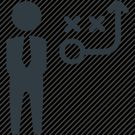 direction, management, marketing, pathway, planning, solution, strategic icon