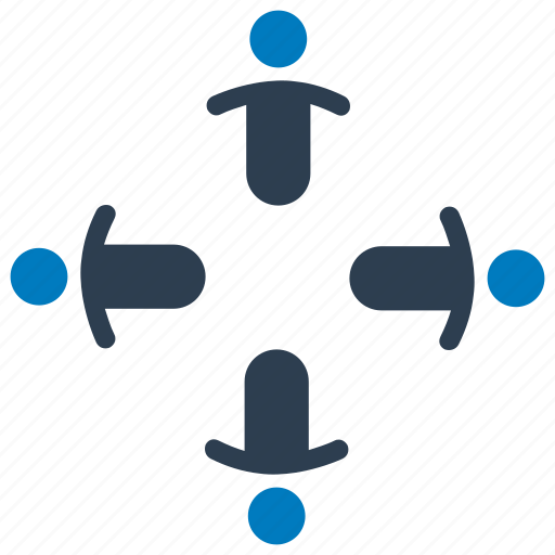 collaboration, community, friendship, group, organization, partnership, teamwork icon