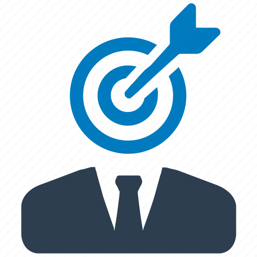 aim, business, business target, focus, goal, target icon