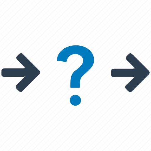 choice, confused, decision, direction, process, question icon
