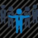 administrator, business team, human resource, leadership, team leader, management team