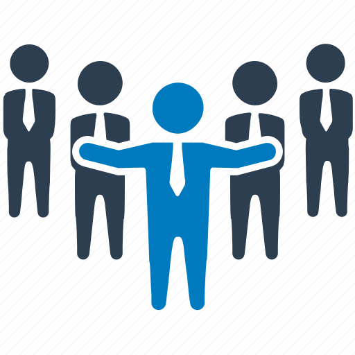 administrator, business team, human resource, leadership, management team, team leader icon