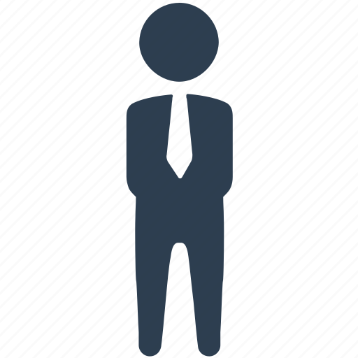 businessman, man, manager, user, worker icon