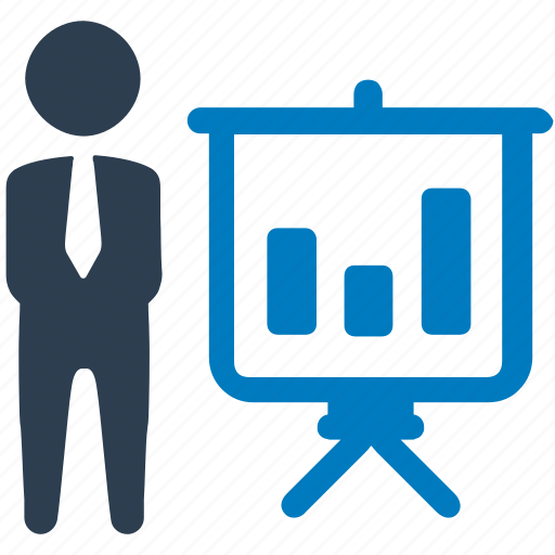bar chart, budget, business, management, presentation, statistics icon