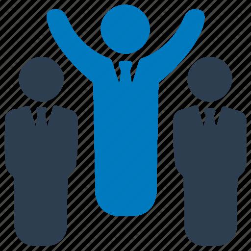 career, development, employee, personal development, promotion icon