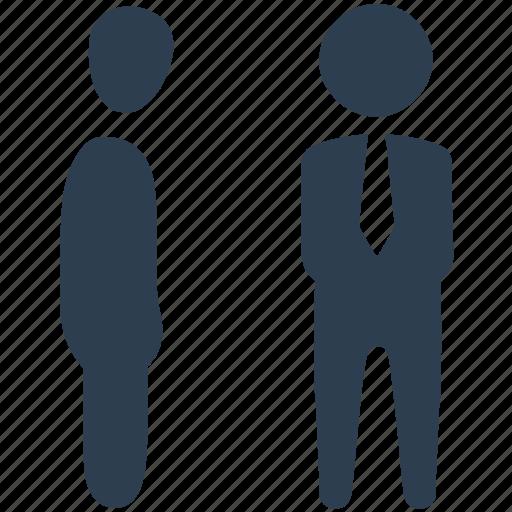 business, communication, conversation, deal, group conversation, talk icon