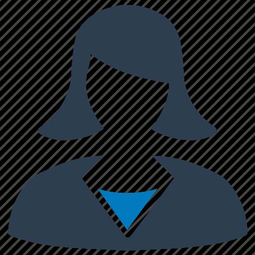 businesswoman, female, female user, professional, women avatar icon