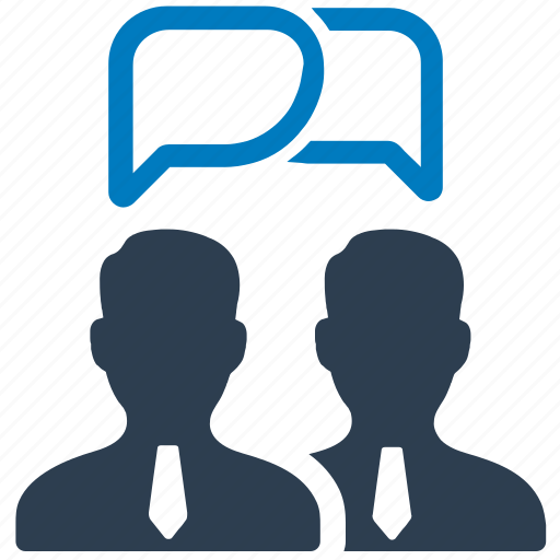 business, chat, communication, connection, conversation, discussion icon