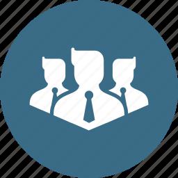 avatar, business, businessmen, group, men, venture icon