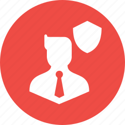 avatar, business, guard, safety, secure, security, shield icon
