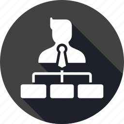 avatar, business, company, hierarchy, level, position, post icon
