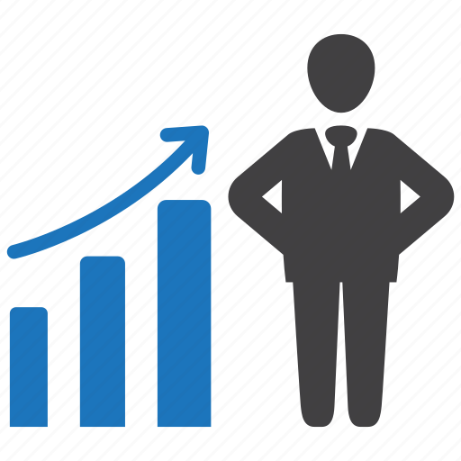 business, chart, development, graph, growth icon