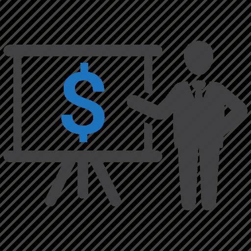 business, expenses, finance, income, money, profit, revenue icon