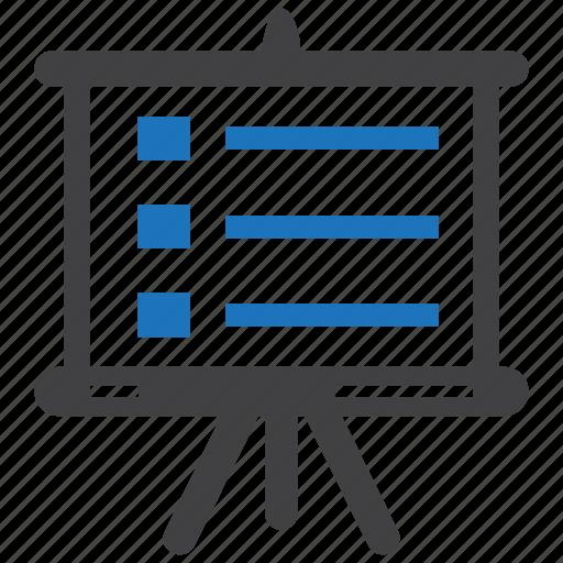 powerpoint, presentation, report, slide, slideshow icon