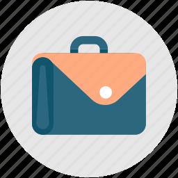 brief, briefcase, business, case, portfolio, suitcase icon