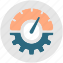dashboard, efficiency, optimization, performance, productivity, speed icon