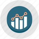 analytics, development, graph, growth, optimization, performance, productivity icon