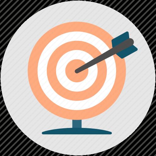 achievement, archery, productivity, skill, success, target icon
