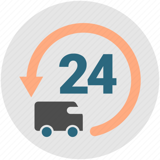 courier, delivery, express, logistics, truck, van icon