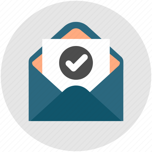 business, check, email, notification, read icon