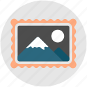 image, imagery, landscape, photo, photography, placeholder, scenery icon