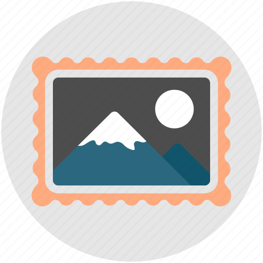 image, imagery, landscape, photo, photography, placeholder, scenery icon