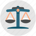 business, court, judge, judgement, law, trial icon